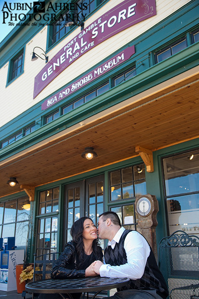 Port Gamble Engagement Session