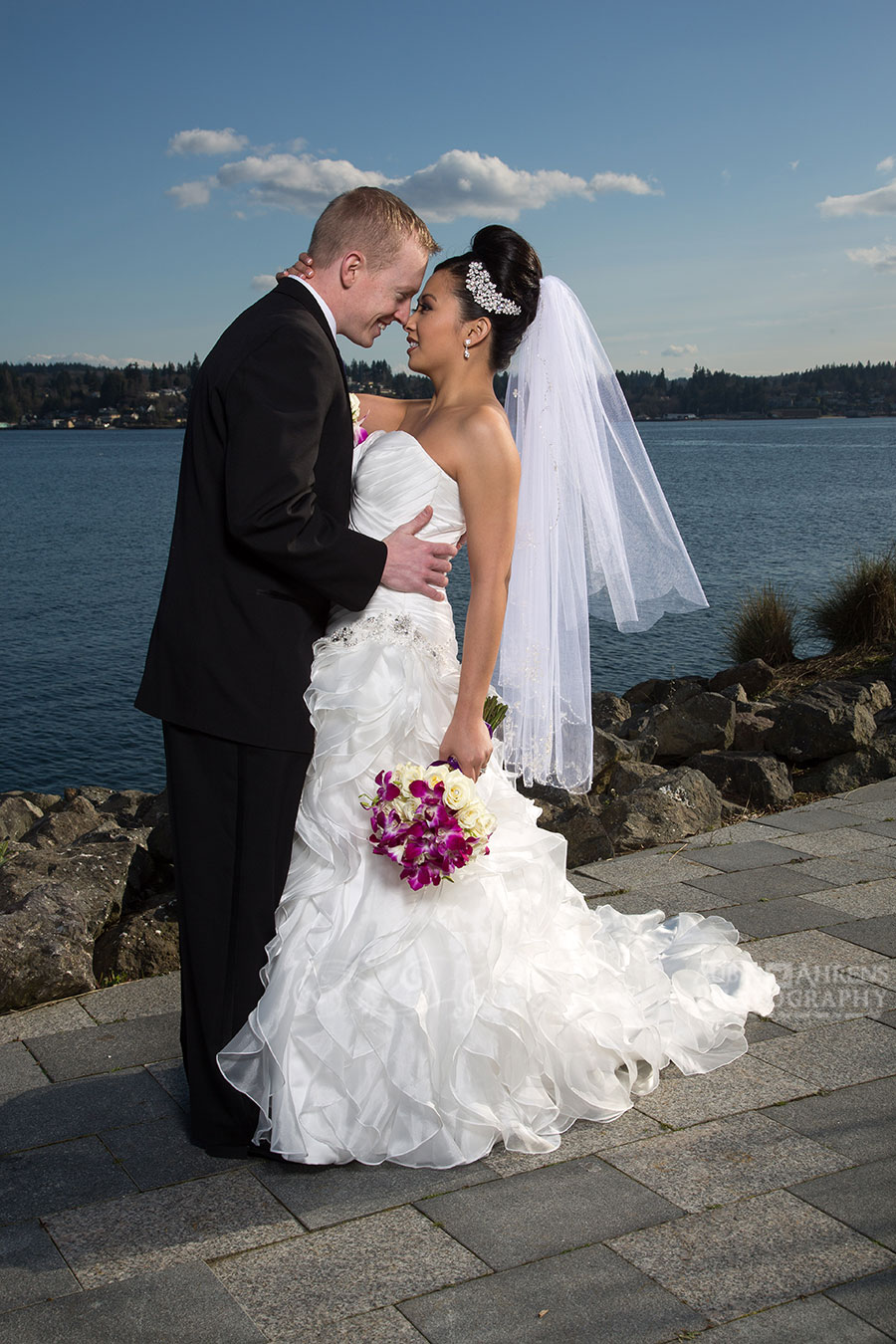 Gorgeous Kitsap Conference Center Wedding