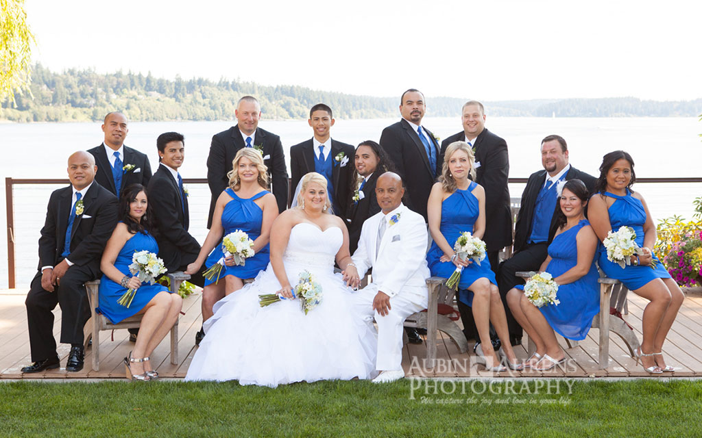 wedding at Clearwater Resort