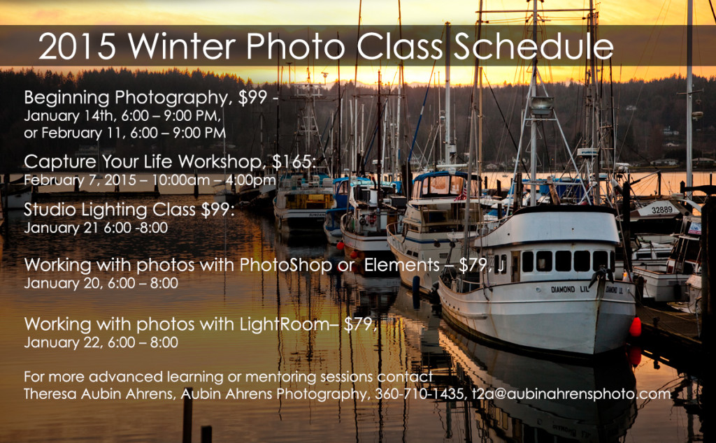 2015 Photo Classes