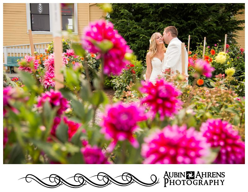 Kitsap Bride and groom portrait